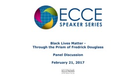 Thumbnail for entry Black Lives Matter – Through the Prism of Fredrick Douglas