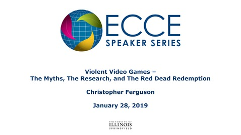 Thumbnail for entry Violent Video Games – The Myths, The Research, and The Red Dead Redemption -  Christopher Ferguson