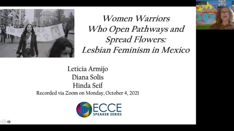 Thumbnail for entry ECCE Speaker Series: Women Warriors (English Translations)