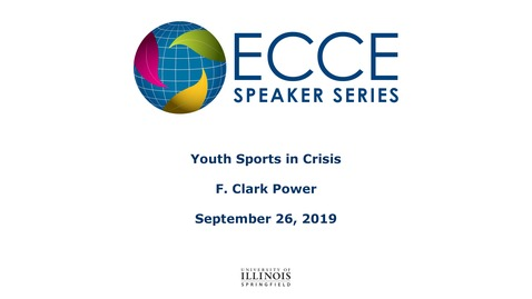 Thumbnail for entry Youth Sports in Crisis -  F. Clark Power