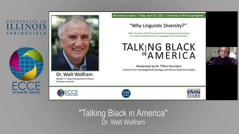 Thumbnail for entry ECCE Speaker Series-  Why Linguistic Diversity?