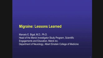 Migraine: Lessons Learned | Neurology & Neurological