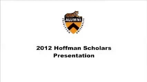 Thumbnail for entry 2012 Emerging Alumni Scholars Welcome and Introductions