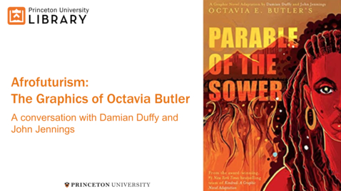 Thumbnail for entry Afrofuturism: The Graphics of Octavia Butler