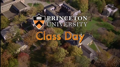 Thumbnail for entry Class Day 2013 with guest speaker David Remnick