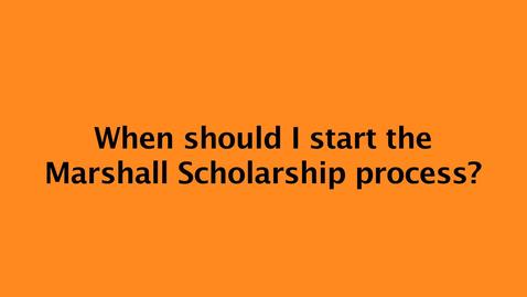 Thumbnail for entry The Path to Marshall Scholarship - Q & A with recipient Dixon Li '14