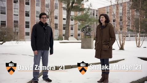 Thumbnail for entry MAE Students- David and Shalaka