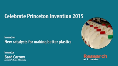 Thumbnail for entry Celebrate Princeton Invention Brad Carrow