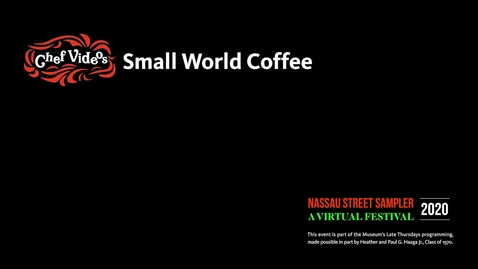 Thumbnail for entry Nassau Sampler - Small World Coffee