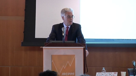 Thumbnail for entry Lord Adair Turner - Keynote Address, JRCPPF 5th Annual Conference