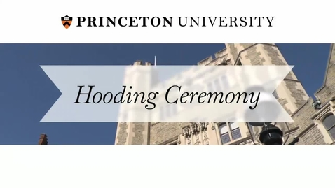 Thumbnail for entry Hooding Ceremony 2014