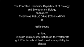 Thumbnail for entry THE FINAL PUBLIC ORAL EXAMINATION  of  Jackie Leung