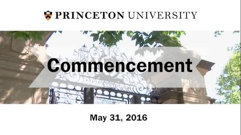 2016 Commencement