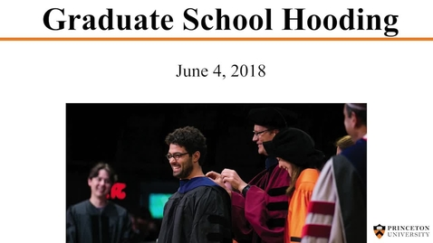 Thumbnail for entry Hooding 2018
