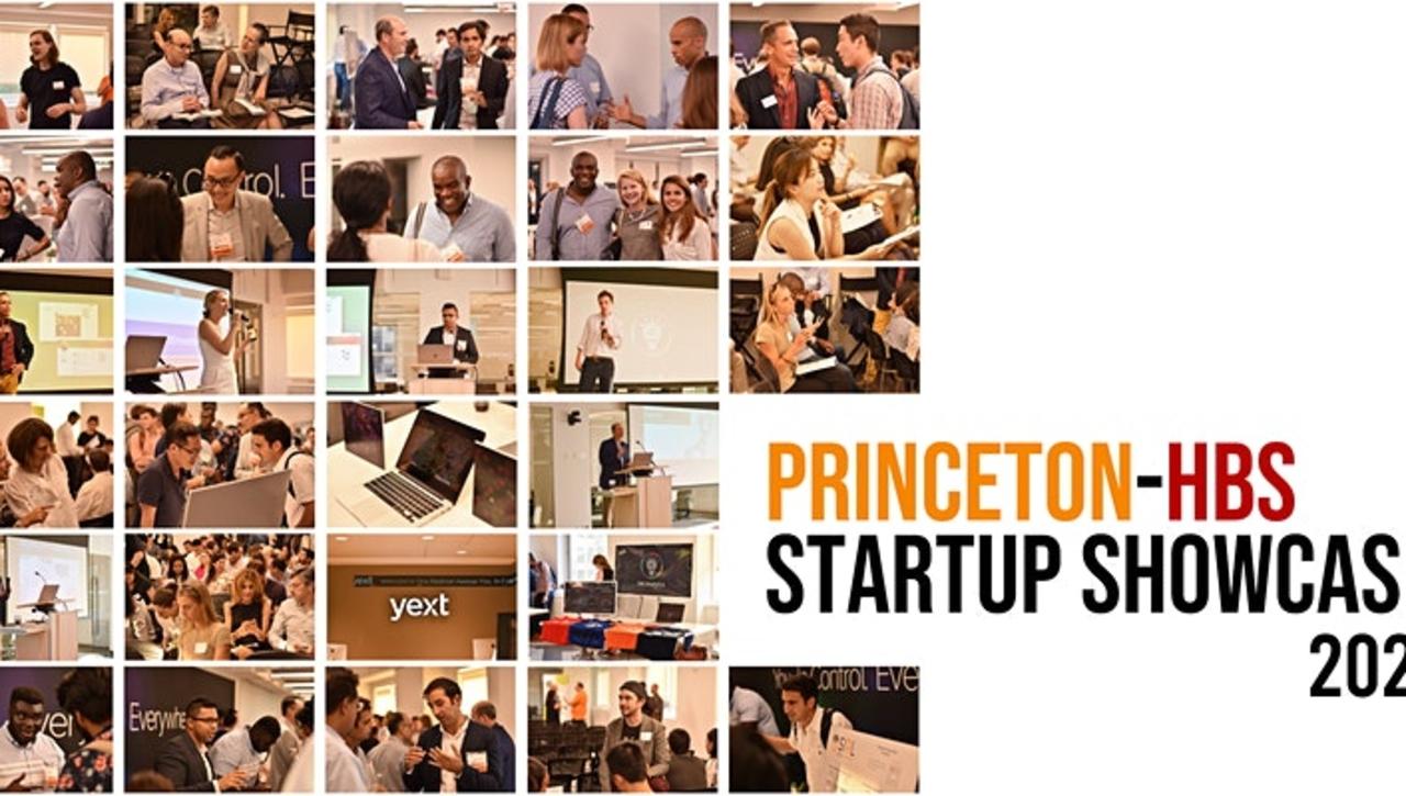 Princeton-HBS Startup Showcase