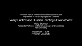 Thumbnail for entry Vasily Surikov and Russian Painting's Point of View