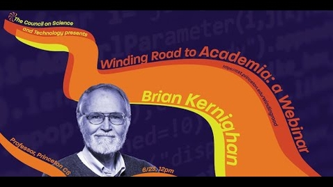 Thumbnail for entry The Winding Road to Academia with Professor Brian Kernighan