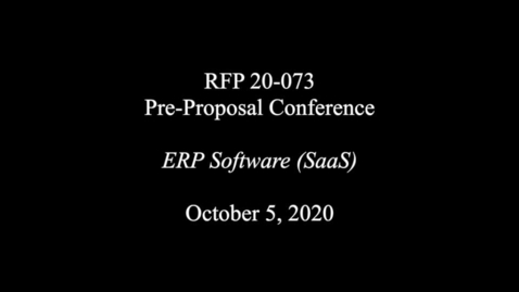 Thumbnail for entry RFP20-073_05Oct20