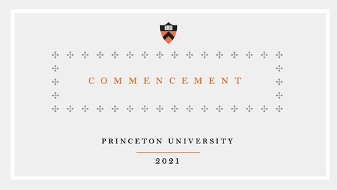 Thumbnail for entry 2021 Commencement