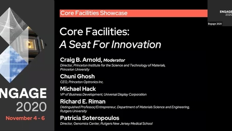 Thumbnail for entry Core Facilities: A Seat for Innovation