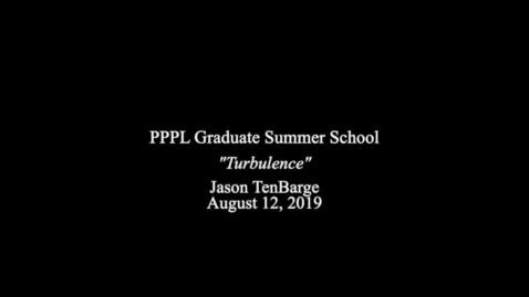 Thumbnail for entry Jason TenBarge GSS  8-12-19
