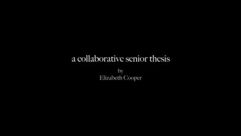 Thumbnail for entry Elizabeth Cooper Final.flv