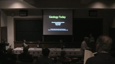 Thumbnail for entry GeoGrad Reunion 2012: Geology Today