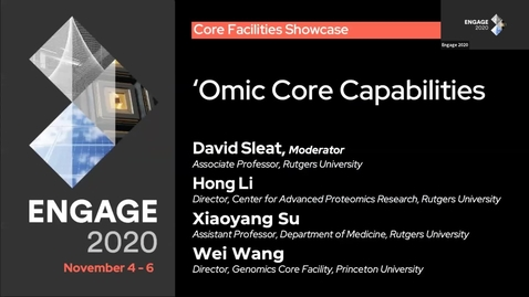 Thumbnail for entry New Jersey Core Facilities Showcase: Omic Core Capabilities