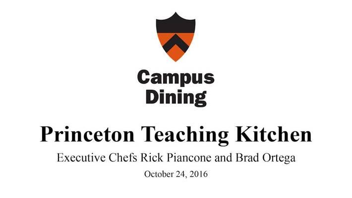 Princeton Teaching Kitchen