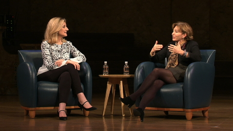 Thumbnail for entry Redefining Success with Arianna Huffington and Anne Marie Slaughter