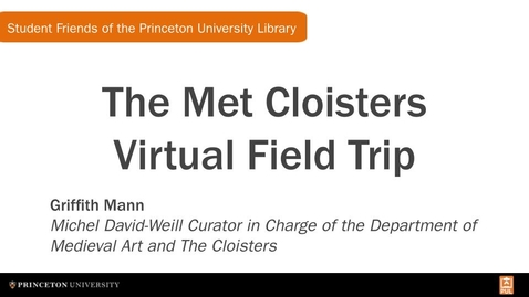 Thumbnail for entry SFPUL: The Met Cloisters Virtual Field Trip