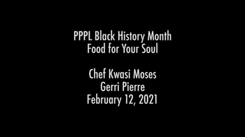 Thumbnail for entry BHM12February2021_FoodForYourSoul