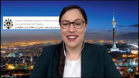 "Thumbnail for entry A conversation  with Professor Farzaneh Hemmasi: ""Tehrangeles Dreaming"""