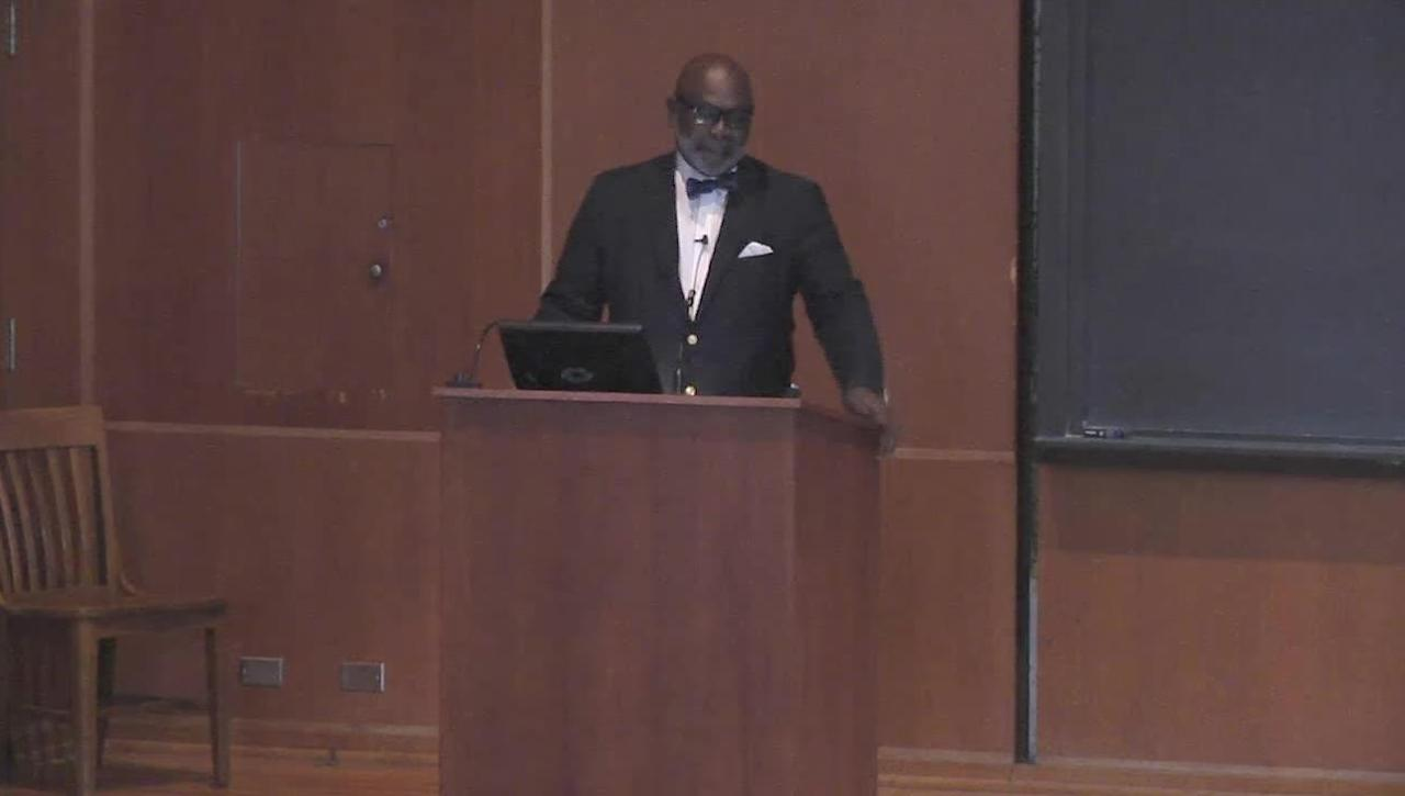 Stafford Little Lecture - Dr. Willie Parker