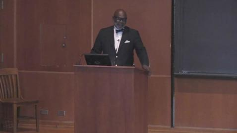 Thumbnail for entry Stafford Little Lecture - Dr. Willie Parker