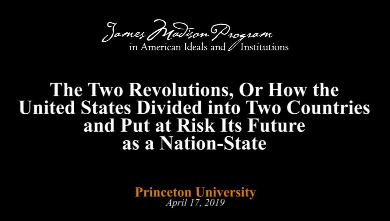 The Two Revolutions, Or How the United States Divided into Two Countries - James Piereson