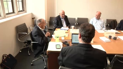 Thumbnail for entry Mini-Conference with Jack Bogle and Burton Malkiel PT1