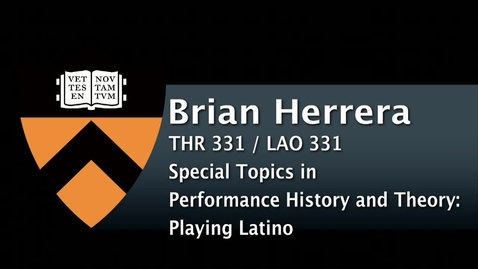 Thumbnail for entry THR331 / LAO331 Playing Latino