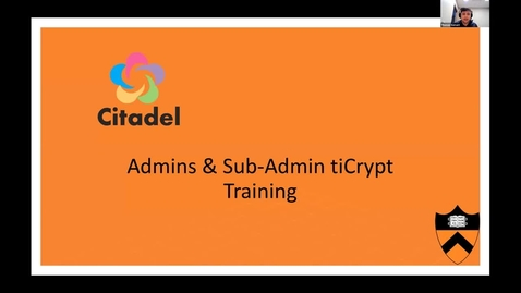 Thumbnail for entry Citadel Sub-Admin-Zoom