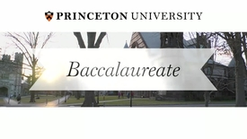Thumbnail for entry Baccalaureate Ceremony 2014