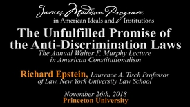 Thumbnail for entry The Unfulfilled Promise of the Anti-Discrimination Laws