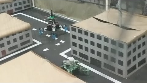 Thumbnail for entry RadLab: Designing Walking Combat Robots