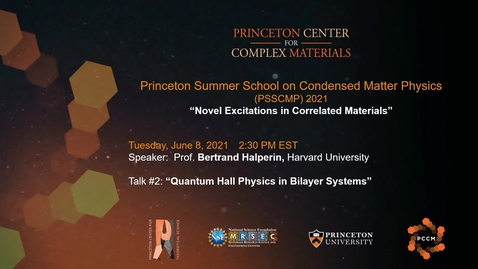 Thumbnail for entry Quantum Hall Physics in Bilayer Systems