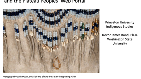 Thumbnail for entry Mukurtu, the Spalding-Allen Collection, and the Plateau Peoples' Web Portal