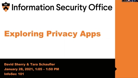 Thumbnail for entry Exploring Privacy Apps