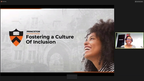 Thumbnail for entry Fostering a Culture of Inclusion for Employees [Part 1 Recording]