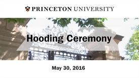 2016 Hooding Ceremony