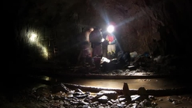 Thumbnail for entry Sampling Ancient Water in a South African Gold Mine