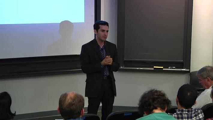 Food and Agriculture Guest Lecture Series - Sasan Amini