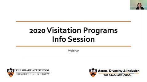 Thumbnail for entry ADI Visitation Programs Webinar